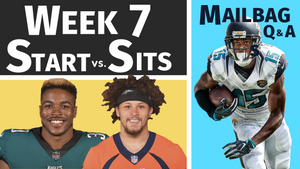 Week 7 - Sit/Starts, Trade Questions & Fan Submitted Q&A | 2018 Fantasy Football