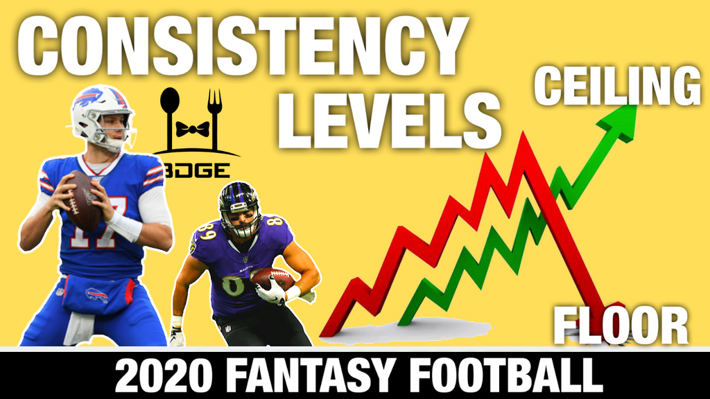 High Ceiling, Low Floor & Most Consistent Players in Fantasy Football