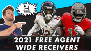 Top Wide Receiver Free Agents in 2021