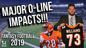 Offensive Line Changes That Will Impact 2019 Fantasy Football