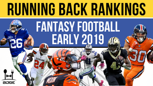 2019 Fantasy Football Running Back Rankings