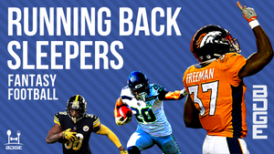 Top Sleepers for 2019 Fantasy Football - Running Backs