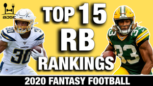 2020 Fantasy Football Running Back Rankings (Part III)