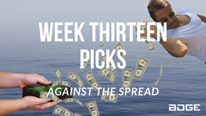 Week 13 Picks Against the Spread