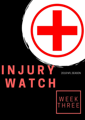 Week 3 Injury Watch