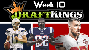 Week 10 - Top DFS Picks and DraftKings Lineups