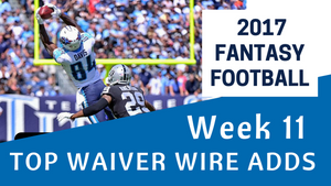Fantasy Football Week 11 - Top Waiver Wire Adds