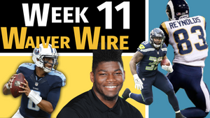 Week 11 - Top Waiver Wire Pickups | 2018 Fantasy Football