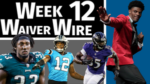 Week 12 - Top Waiver Wire Pickups