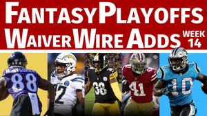 Waiver Wire Pickups for Fantasy Football Playoffs - Week 14