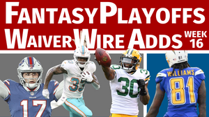 Fantasy Football Championship Waiver Wire Pickups - Week 16