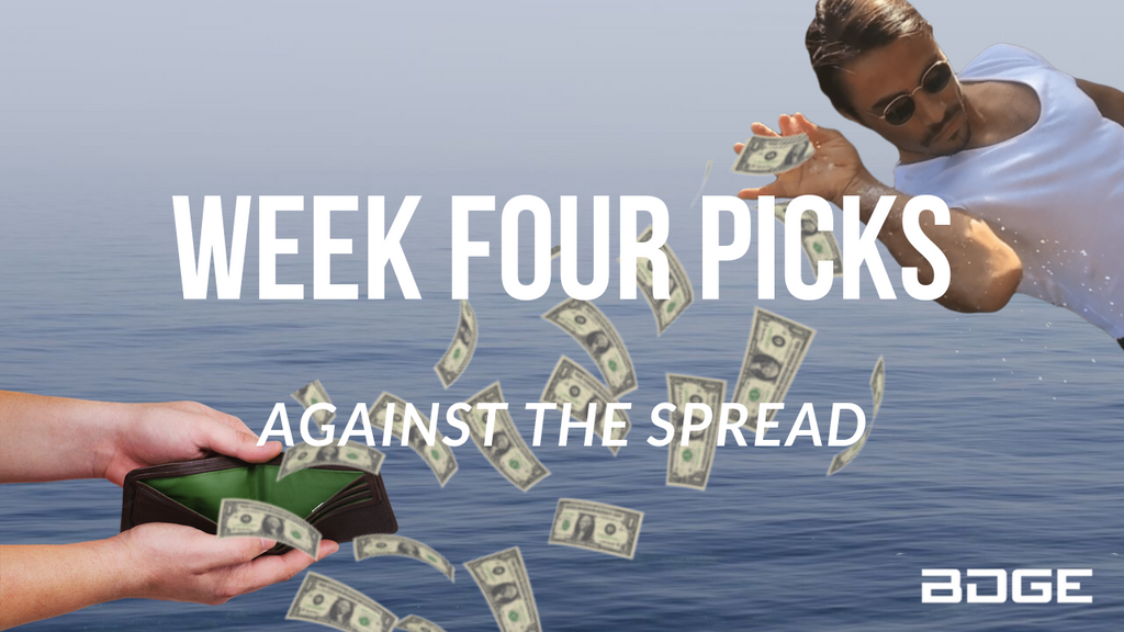 Week 4 Picks Against the Spread