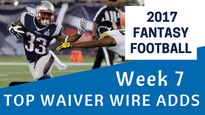 Fantasy Football Week 7 - Waiver Wire Top Adds