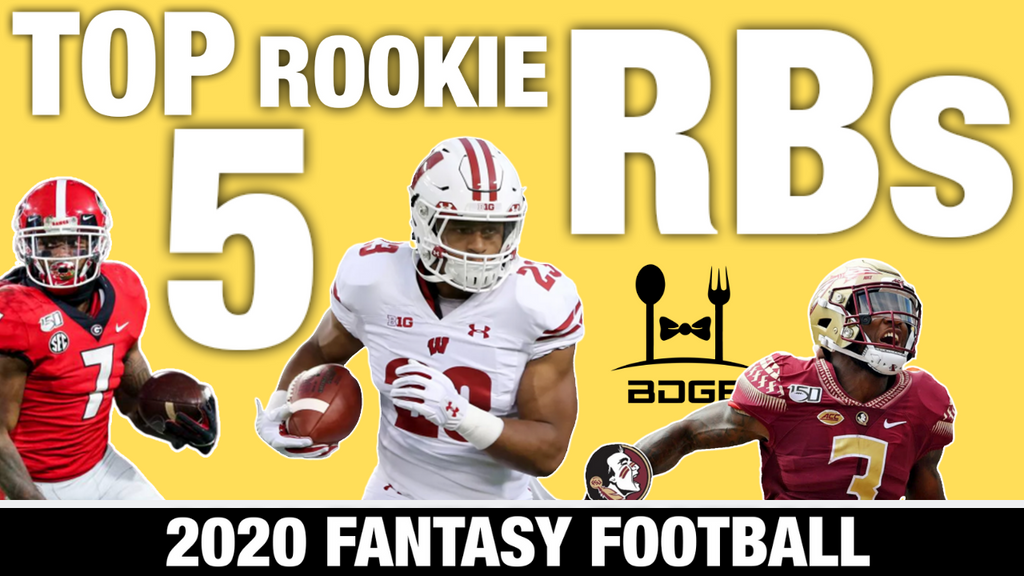 Top 5 Rookies Running Backs for 2020 Fantasy Football