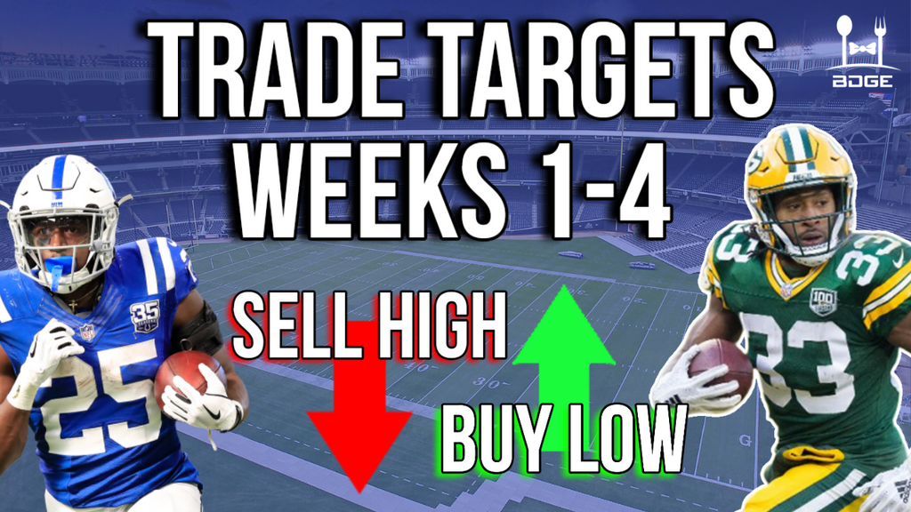 Best Trade Targets in 2019 Fantasy Football for Weeks 1-4