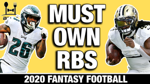 MUST Own Running Backs (Rounds 1-3) in 2020 Fantasy Football