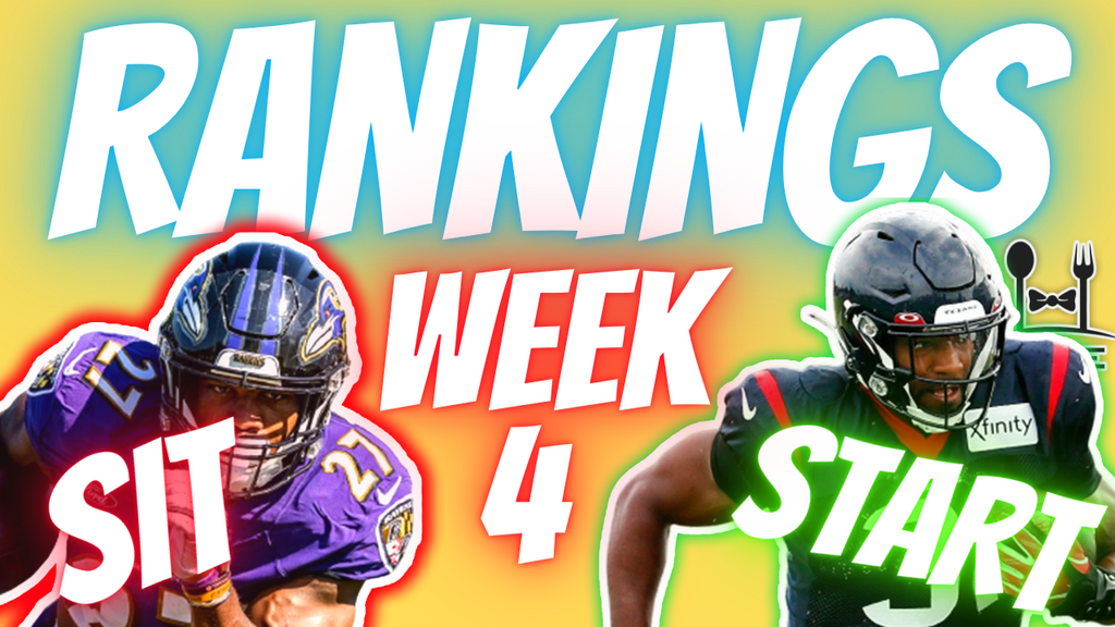 Week 4 Rankings