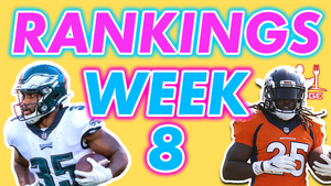 Week 8 Rankings