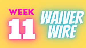 Week 11 Waiver Wire