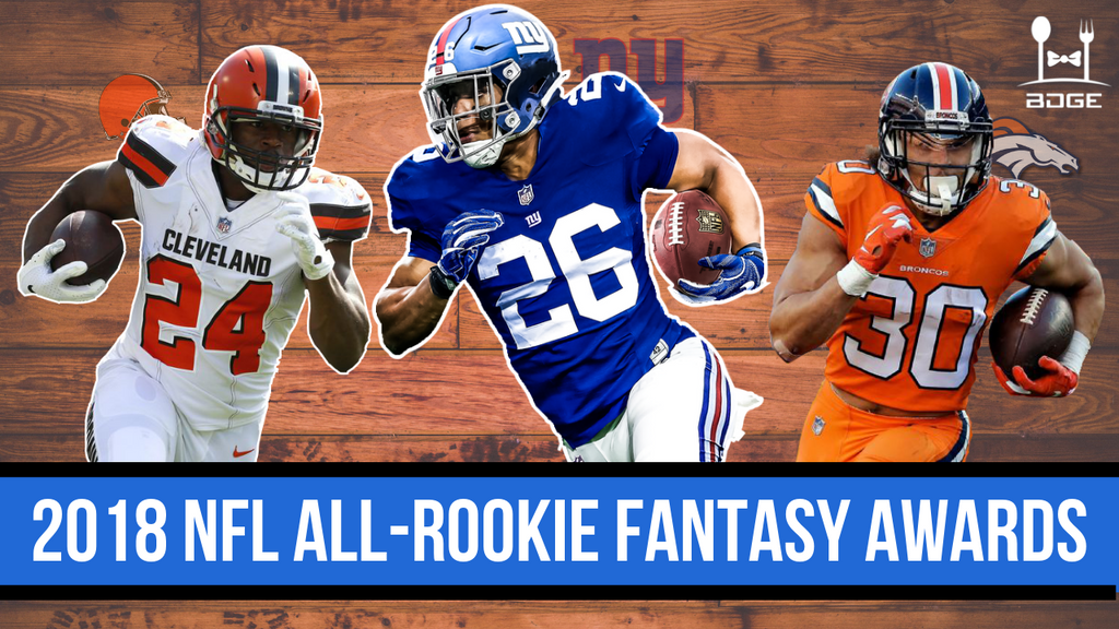 The 2018 Fantasy Football All-Rookie Team