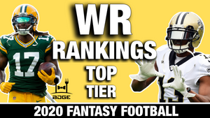 2020 Fantasy Football WR Rankings - Part I