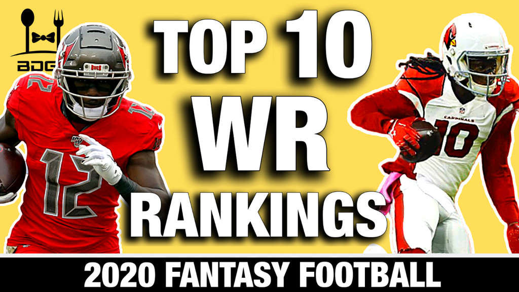 Top 12 Wide Receiver Rankings for 2020 Fantasy Football (Tier II)