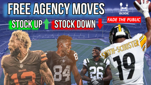 NFL Free Agency: Stock Up & Stock Down for 2019 Fantasy Football + March Madness