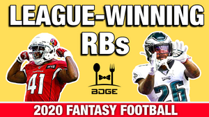 League Winning Upside Running Backs in 2020 Fantasy Football