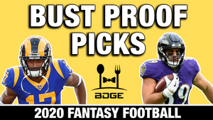 Bust Proof Players in 2020 Fantasy Football