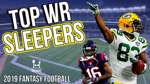 Top Wide Receiver Sleepers for 2019 Fantasy Football