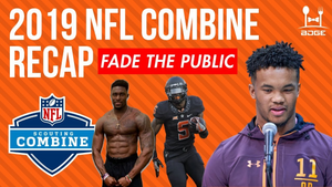 NFL Combine Recap for 2019 Fantasy Football | Fade The Public Podcast