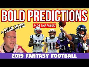 2019 Fantasy Football Bold Predictions & the Fantasy Football Industry ft. Evan Silva