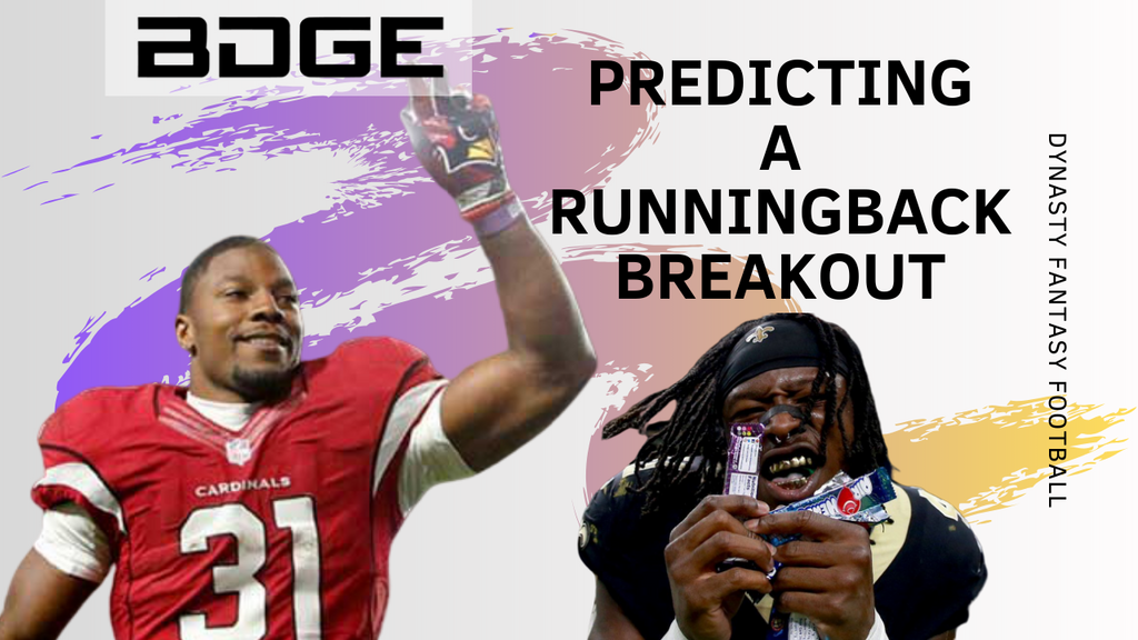 Predicting a Running Back Breakout