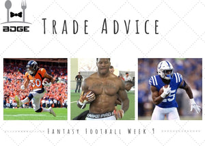 Week 9 Trade Questions