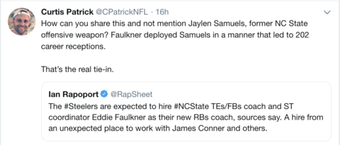james conner fantasy football 2019
