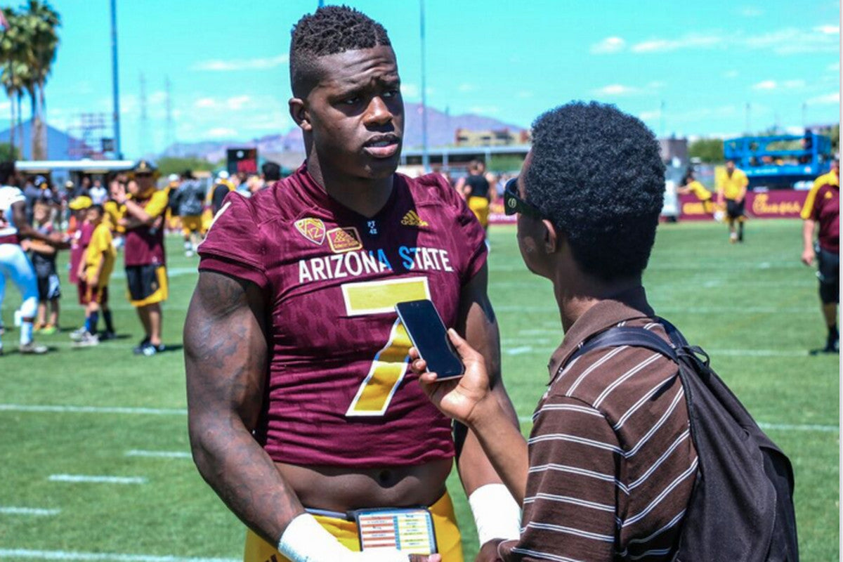 Kalen Ballage Arizona State ripped