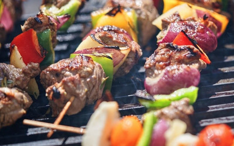 African bbq grilling