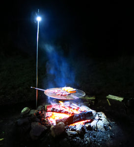 Best BBQ Light For Night-Outs and Outdoor Camping (Light pole kit)