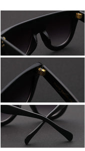 Thick Flat Top Sunglasses