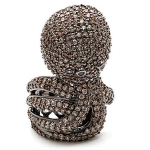 Blinged Out Octopus Ring