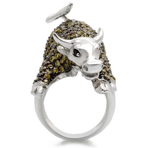 Blinged Out Bull Ring