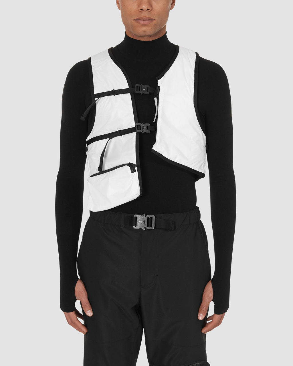 1017 ALYX 9SM | MONCLER HAND WARMER VEST | Outerwear | Google Shopping, Man, Moncler, OUTERWEAR, S20, UNISEX, WHITE