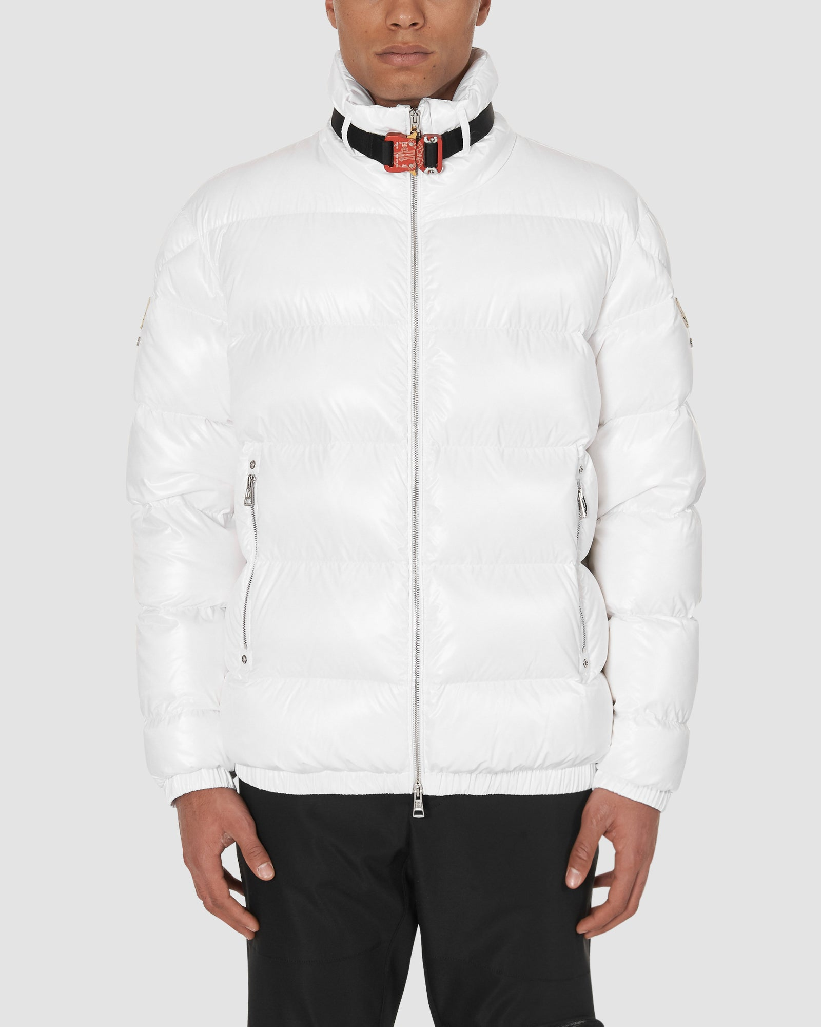 1017 ALYX 9SM | MONCLER SIRUS JACKET | Outerwear | BLACK W RED BUCKLE, Google Shopping, Man, Moncler, OUTERWEAR, S20, UNISEX