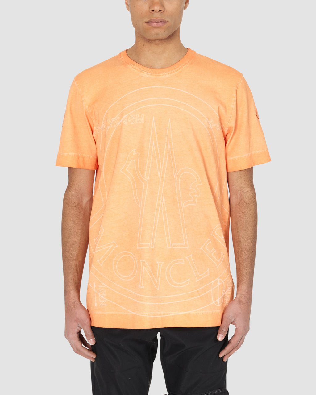 1017 ALYX 9SM | MONCLER T-SHIRT | T-Shirt | Google Shopping, Man, Moncler, ORANGE, S20, T-Shirts, UNISEX