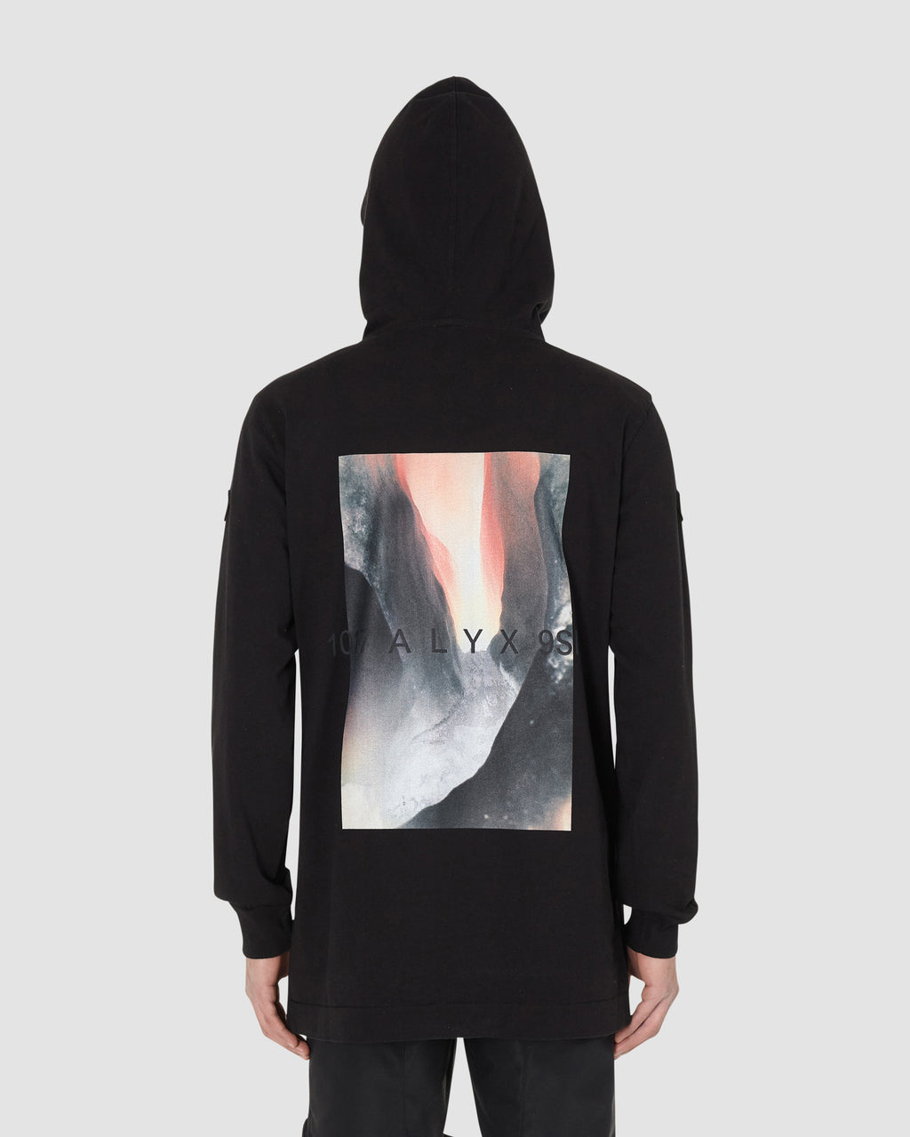 1017 ALYX 9SM | MONCLER HOODED JUMPER | T-Shirt | BLACK, Google Shopping, Man, Moncler, S20, T-Shirts, UNISEX