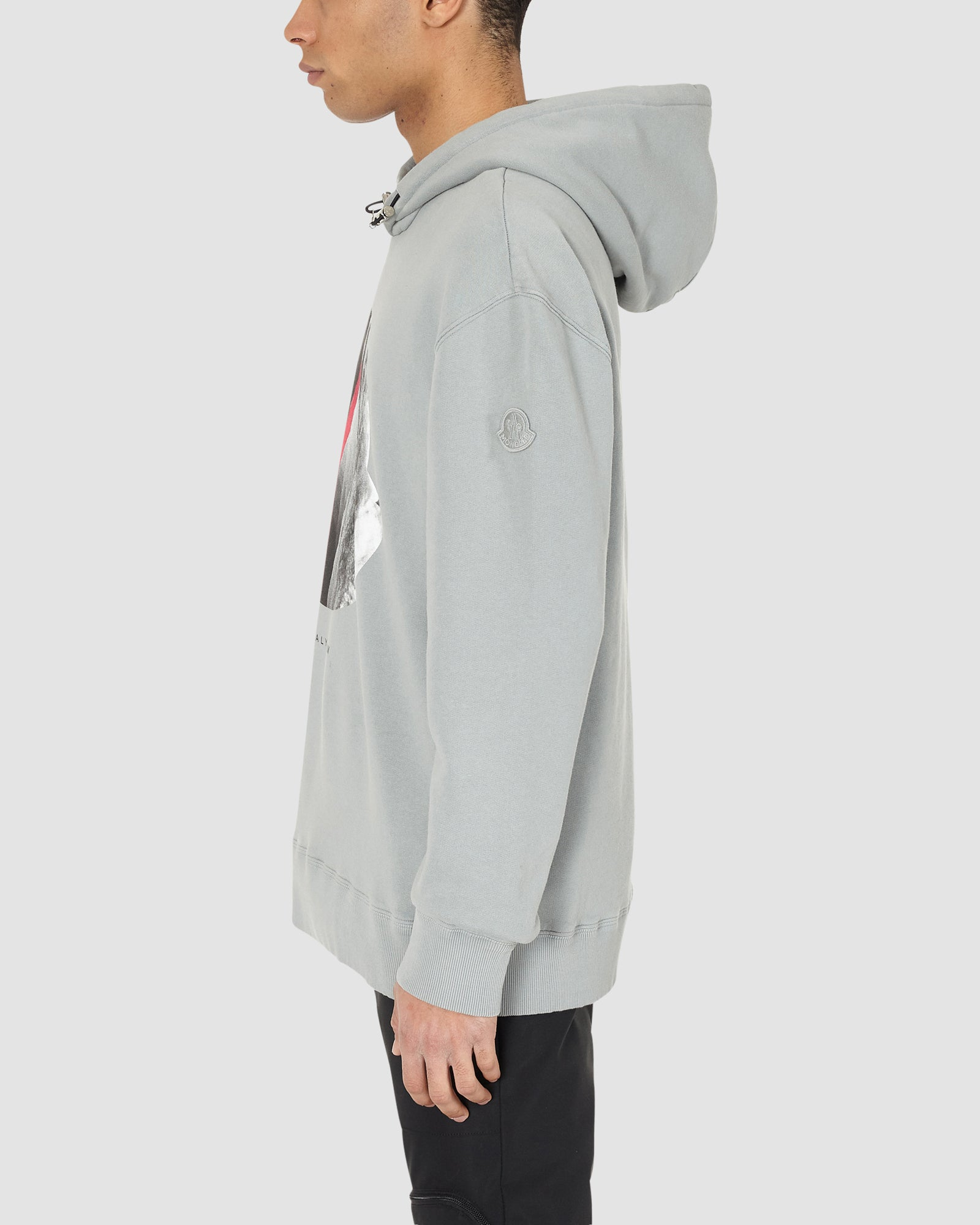 1017 ALYX 9SM | MONCLER HOODED JUMPER | T-Shirt | Google Shopping, Grey, Man, Moncler, S20, T-Shirts, UNISEX, WASHED GREY