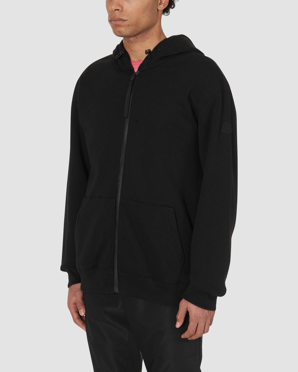 1017 ALYX 9SM | MONCLER HOODED JUMPER | Sweatshirt | BLACK, Google Shopping, Man, Moncler, S20, T-SHIRTS, UNISEX