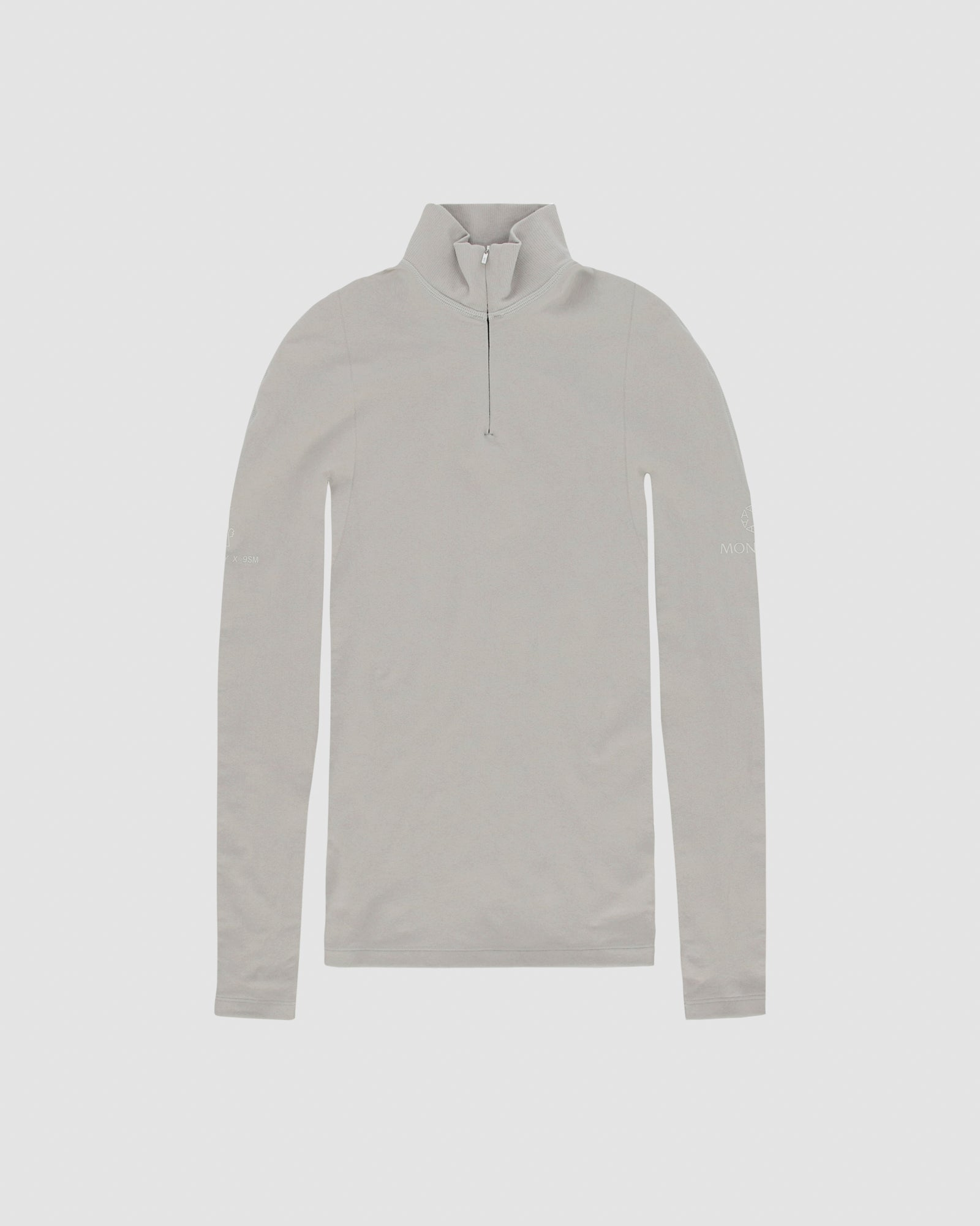 MONCLER ZIP TURTLENECK