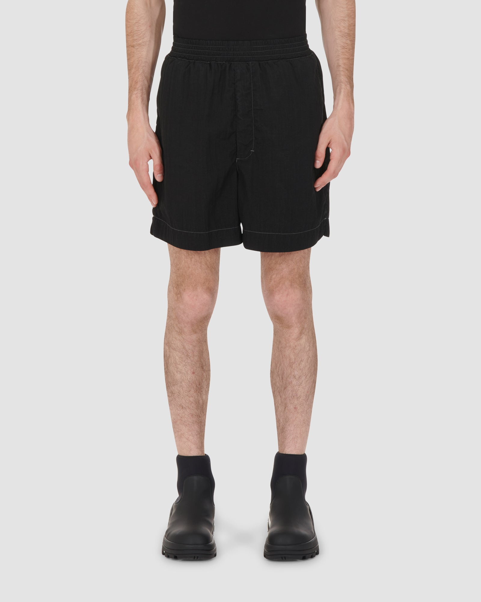 1017 ALYX 9SM | GARMENT DYED SWIM TRUNK | Swimwear | BEACHWEAR, BLACK, Google Shopping, Man, MEN, S20, SS20