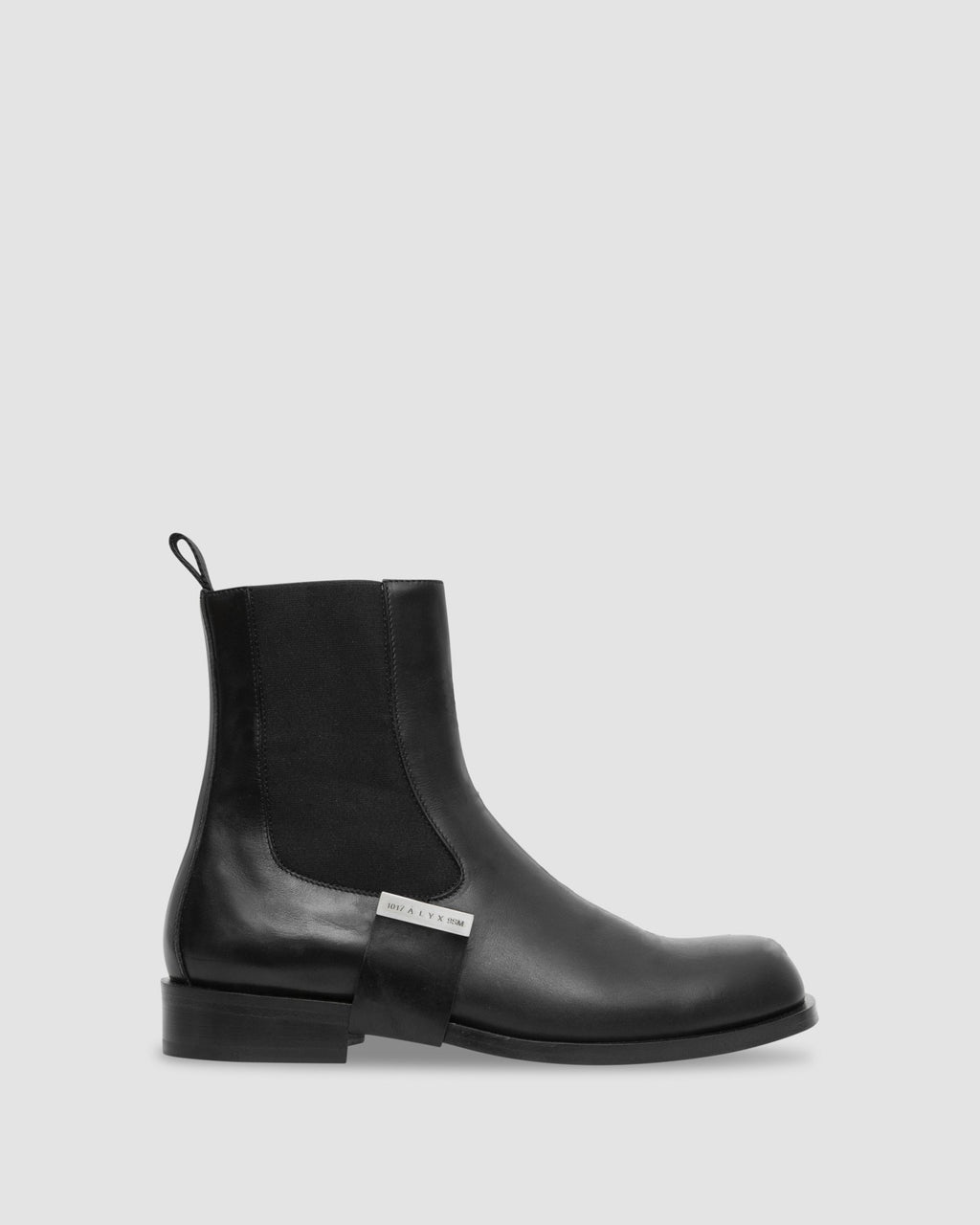 LEATHER STRAP CHELSEA BOOT